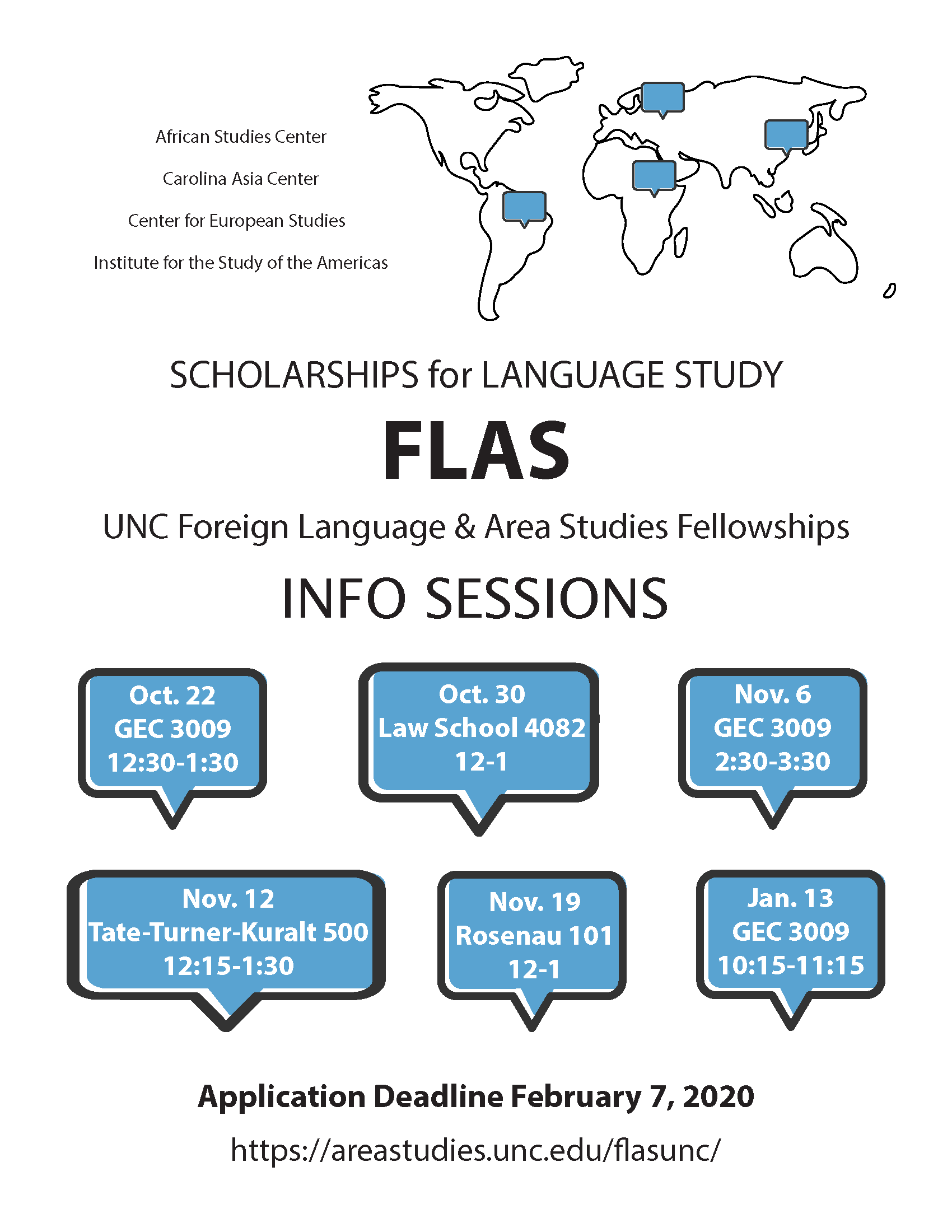 UNC Foreign Language & Area Studies Fellowships Information Session