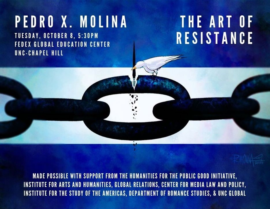 Pedro X. Molina on the Art of Resistance