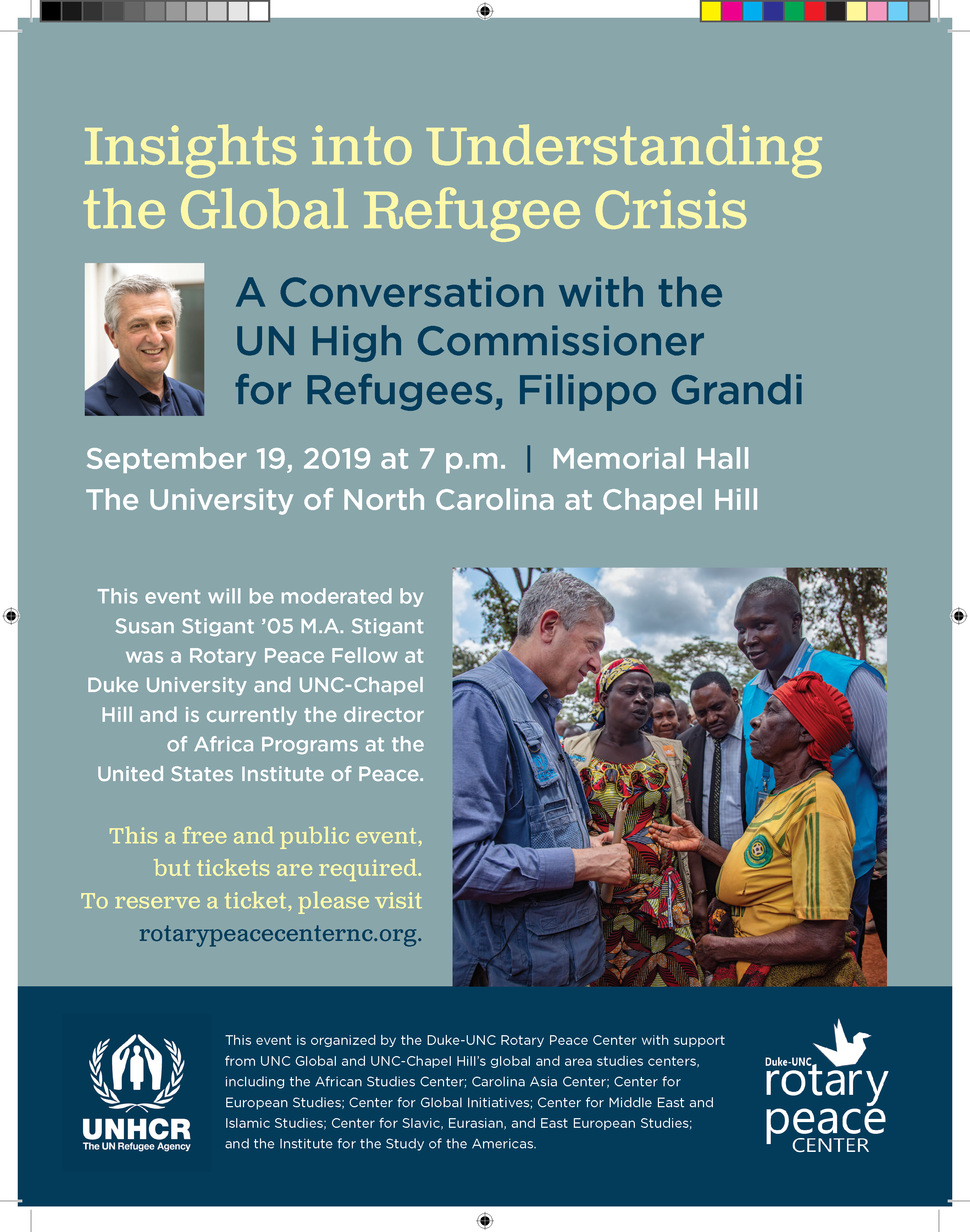 Insights into Understanding the Global Refugee Crisis: A Converstation with the UN High Commissioner for Refugees, Filippo Grandi