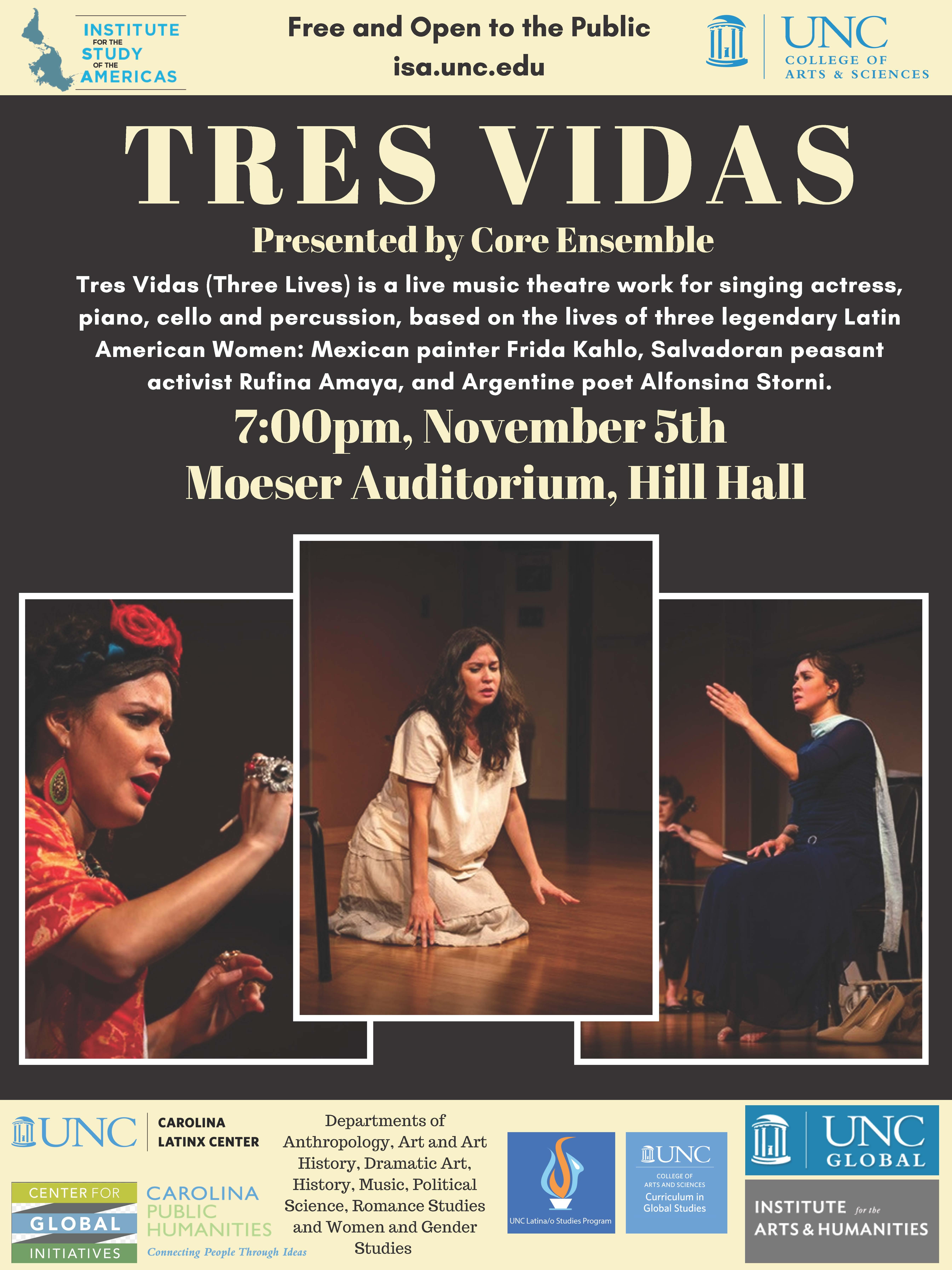 Core Ensemble Performs 'Tres Vidas' Honoring Influential Latin American Women
