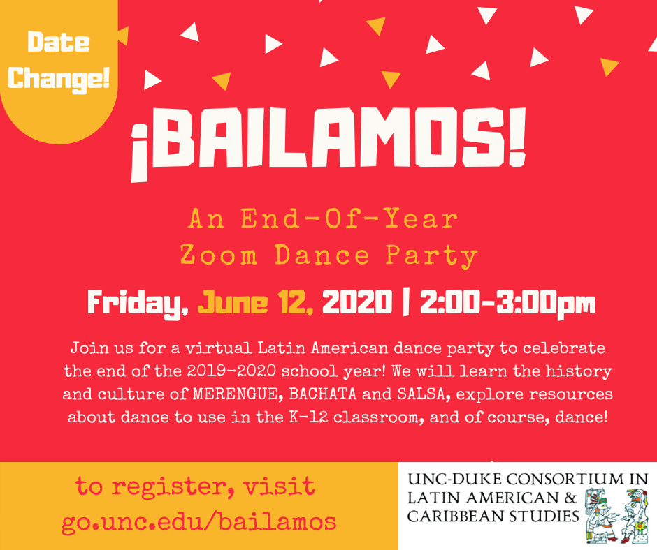 ¡Bailamos! An End of the Year Dance Party!