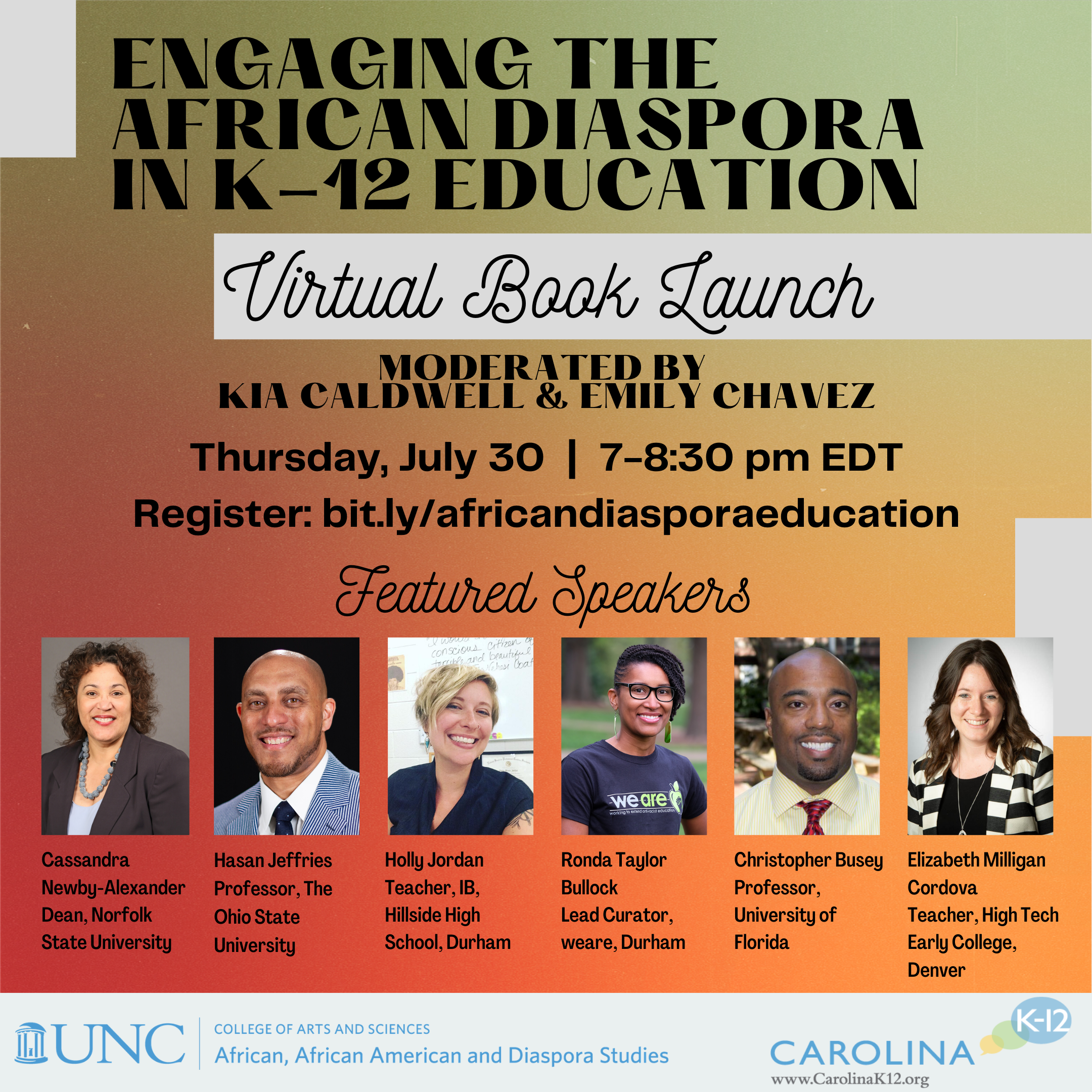 Engaging the African Diaspora in K-12 Education book launch