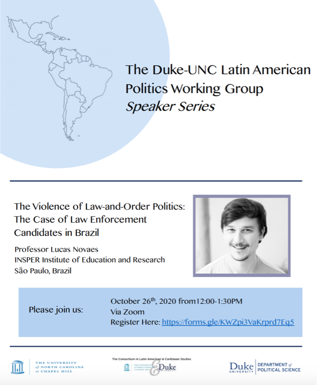 The Violence of Law-and-Order Politics: The Case of Law Enforcement Candidates in Brazil