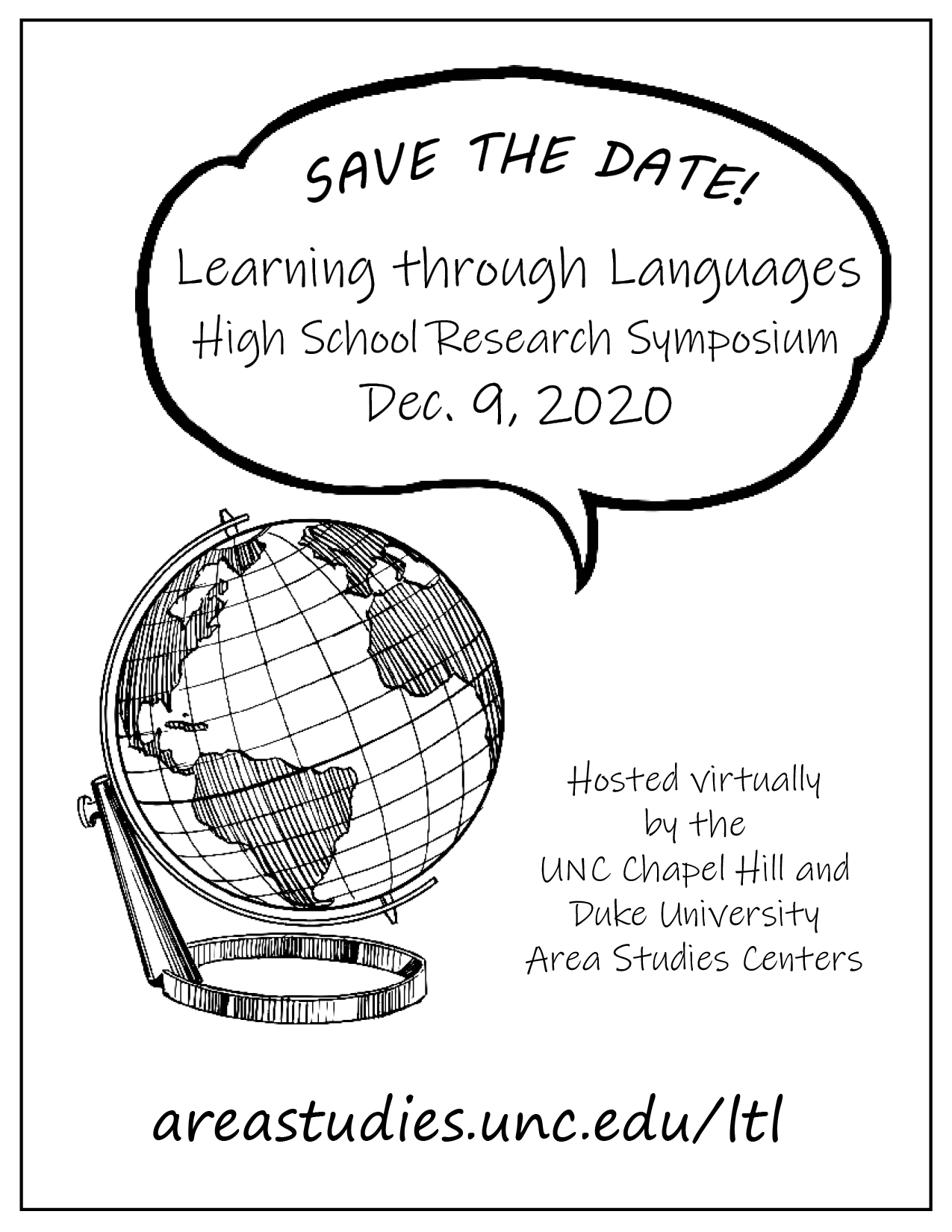 Learning Through Languages High School Research Symposium
