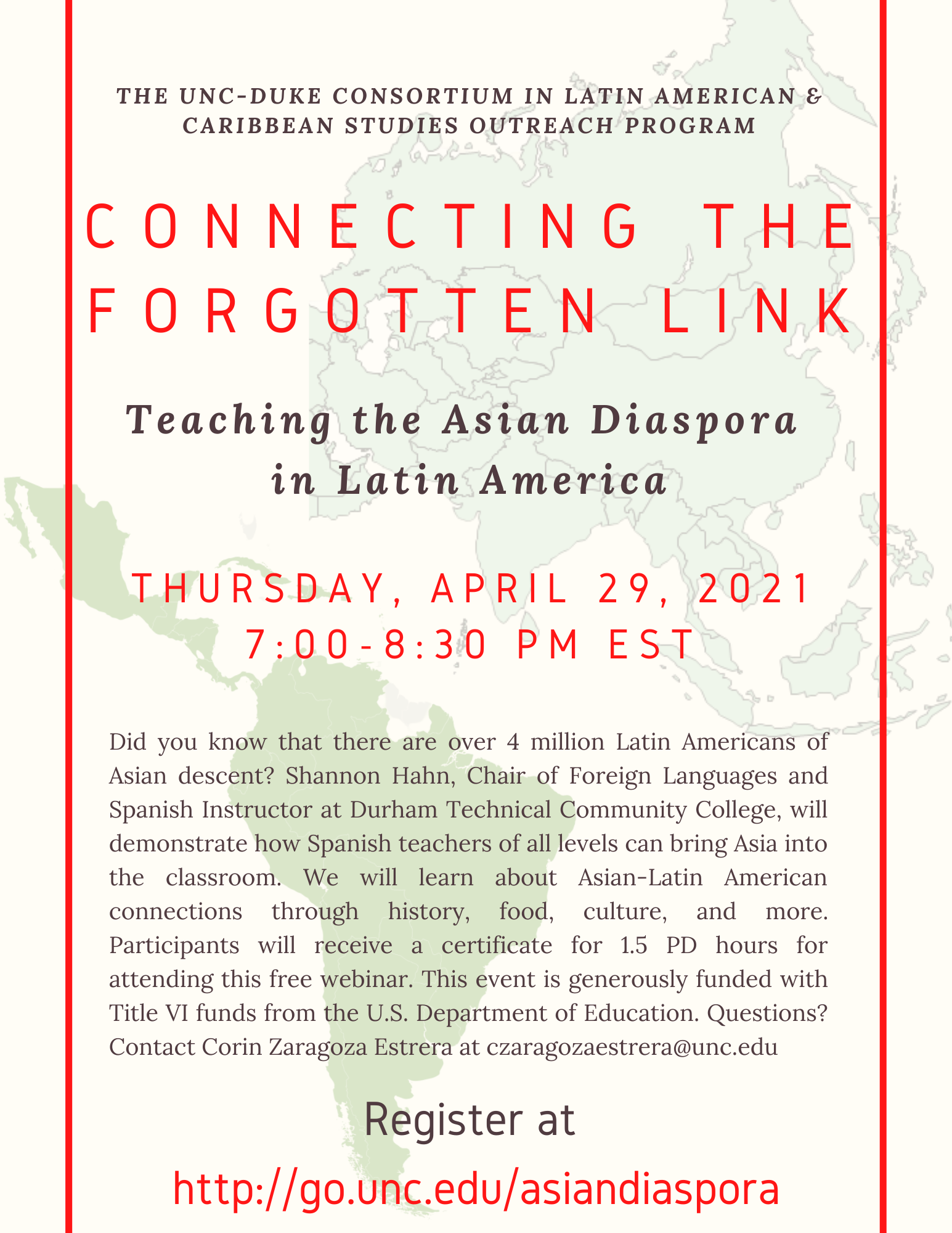 Teaching the Asian Diaspora in Latin America