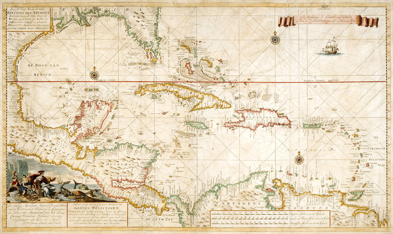 Caribe Map