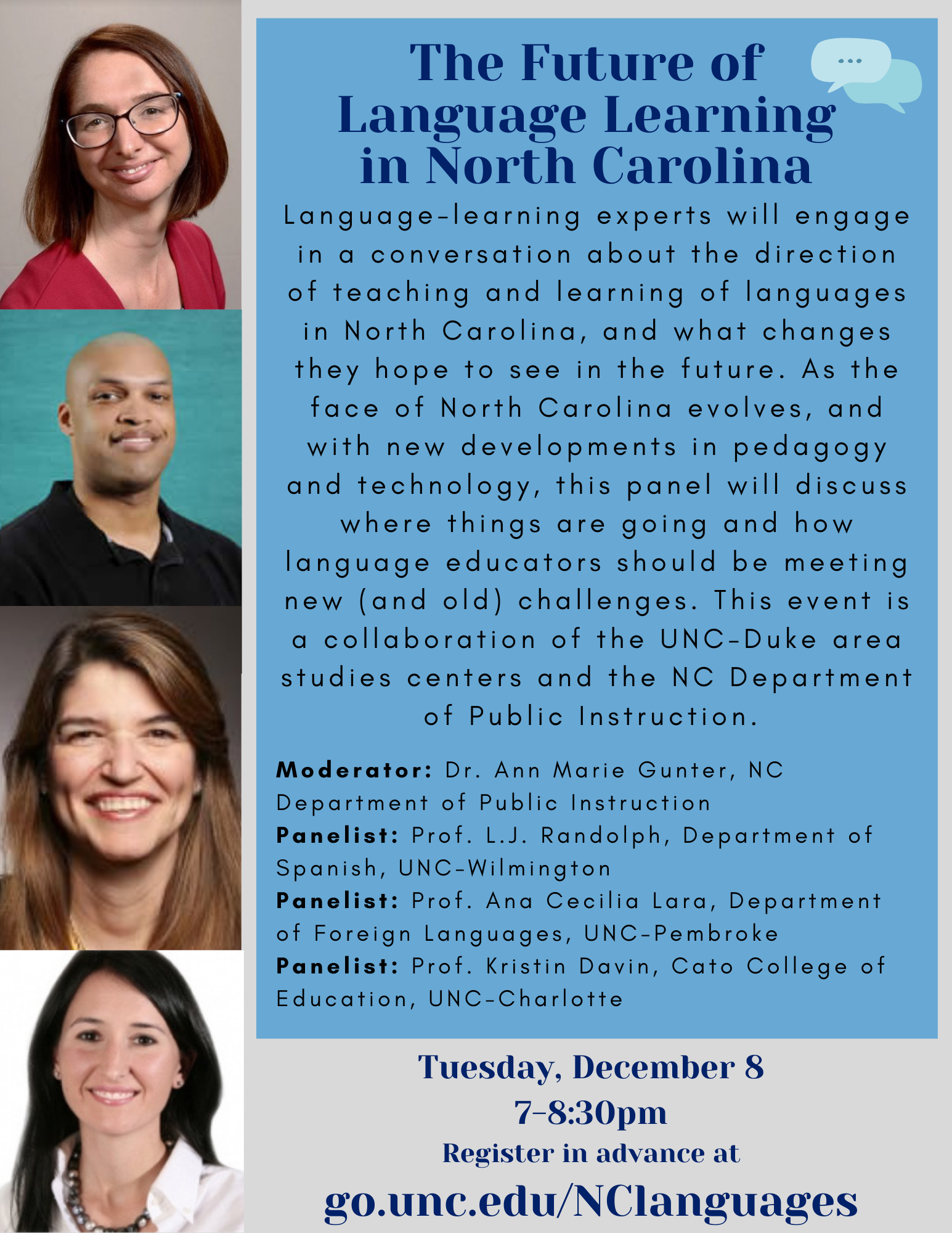 The Future of Language Learning in NC