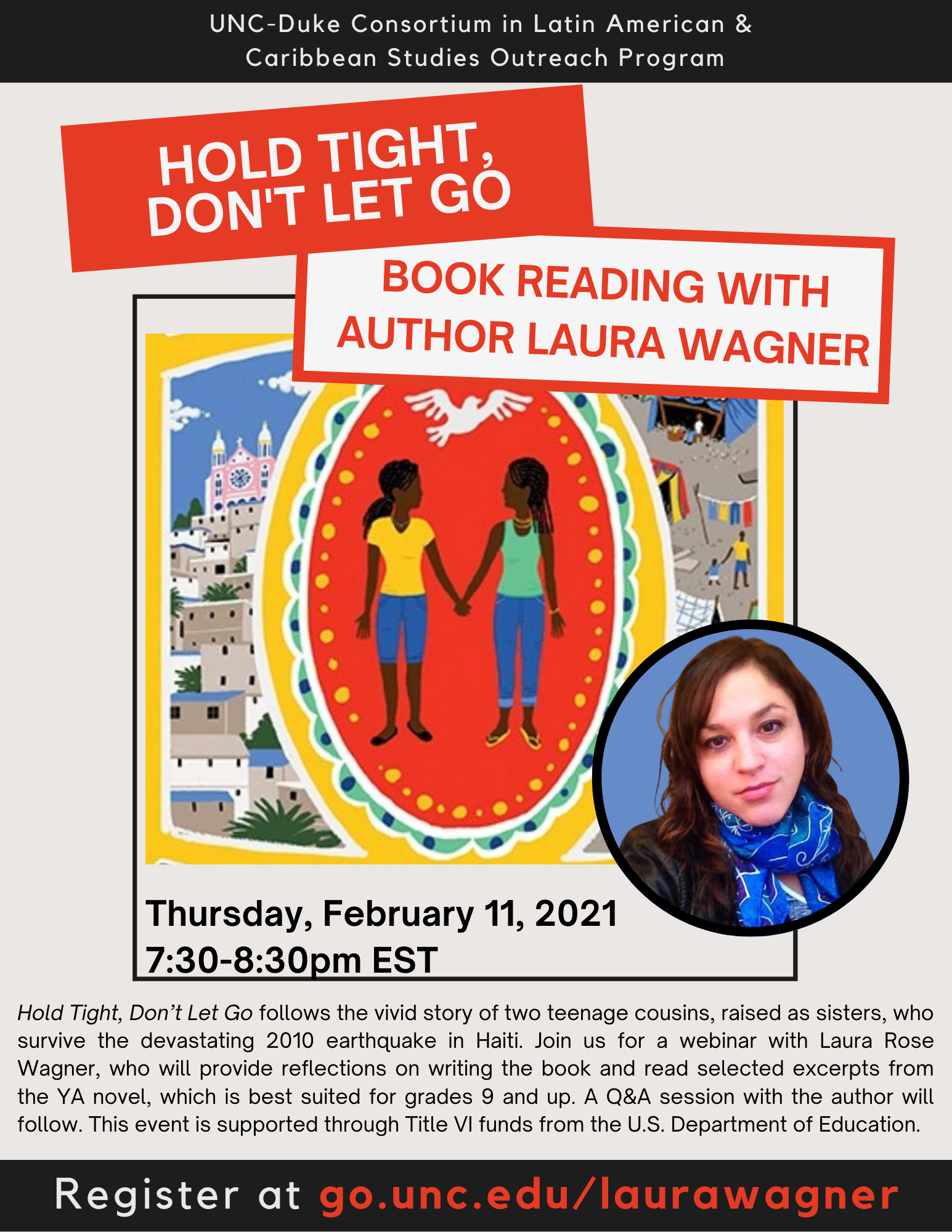 Hold Tight, Don't Let Go: Reading with Laura Wagner