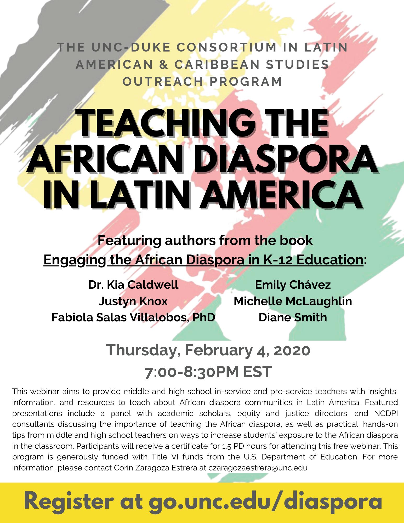 Teaching the African Diaspora in Latin America