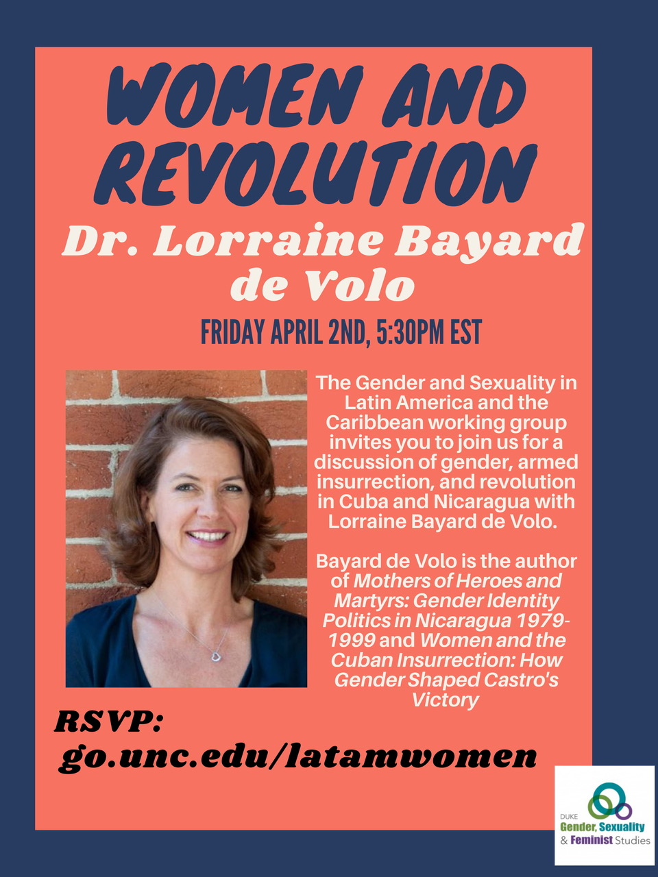 Dr. Lorraine Bayard de Volo on Women and Revolution