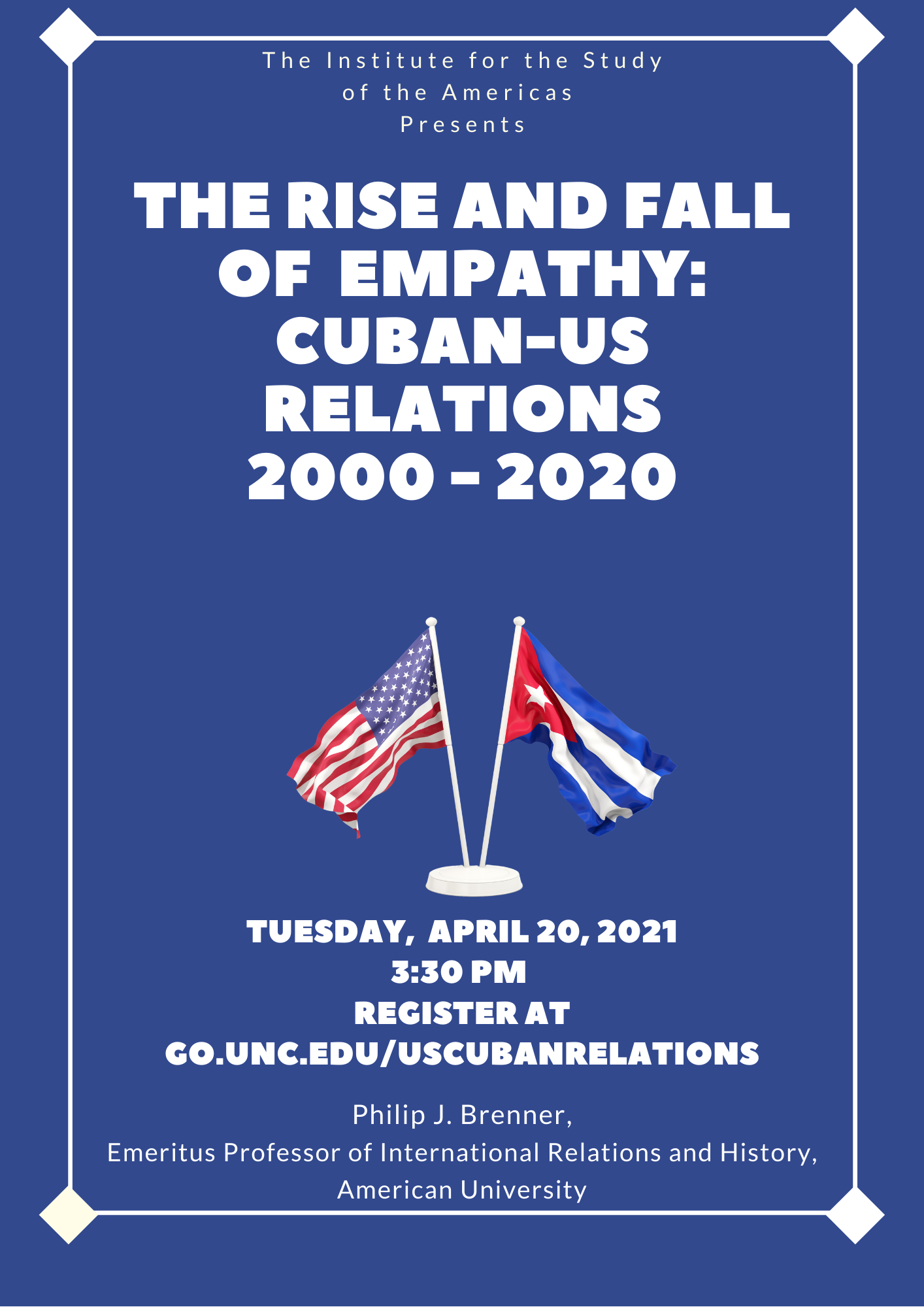 The Rise and Fall of Empathy: Cuban-US Relations 2000-2020