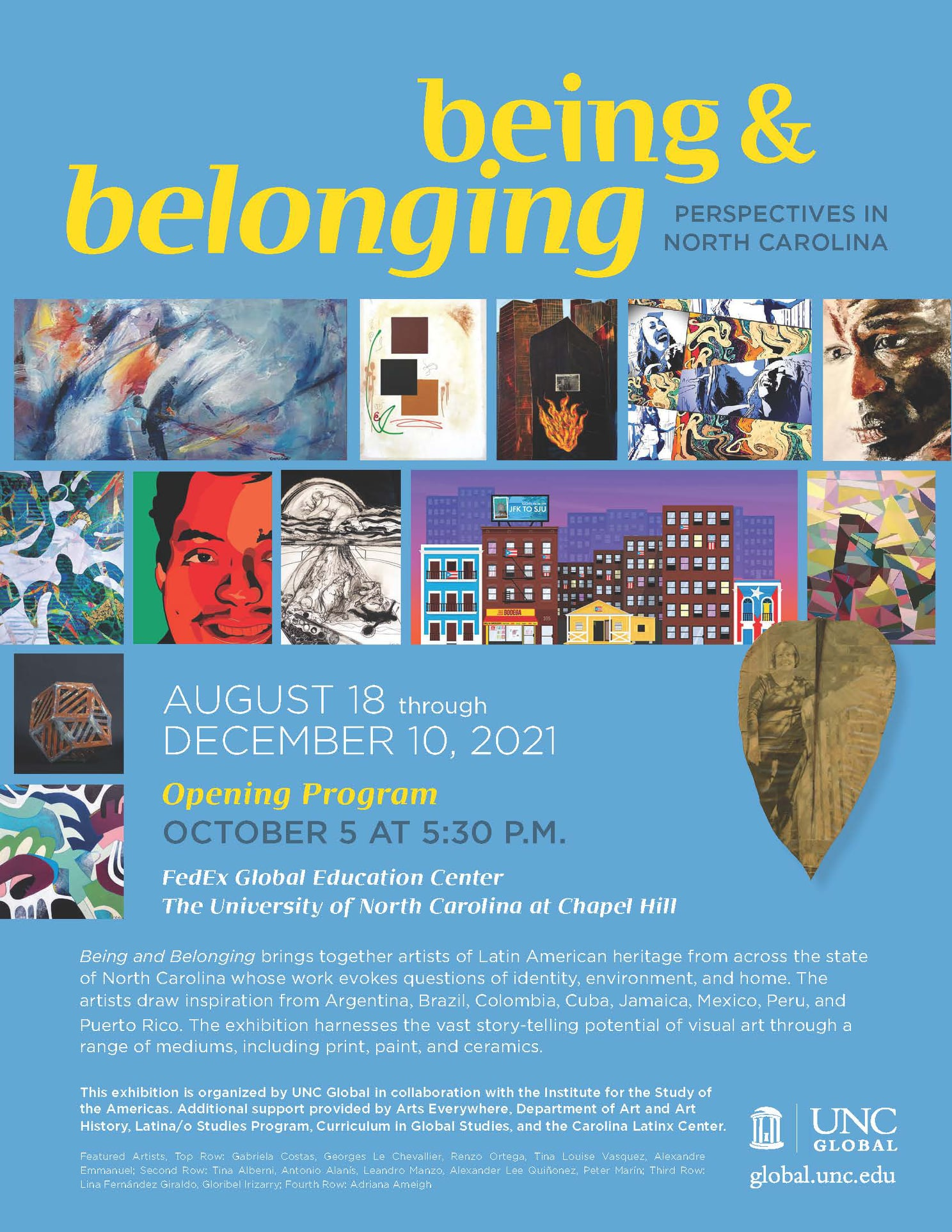 Being and Belonging: Perspectives from North Carolina