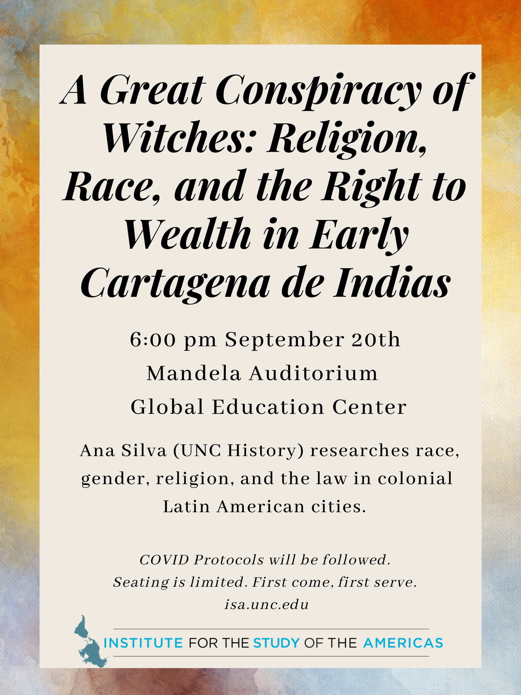 A Great Conspiracy of Witches: Religion, Race, and the Right to Wealth in Early Cartagena de Indias