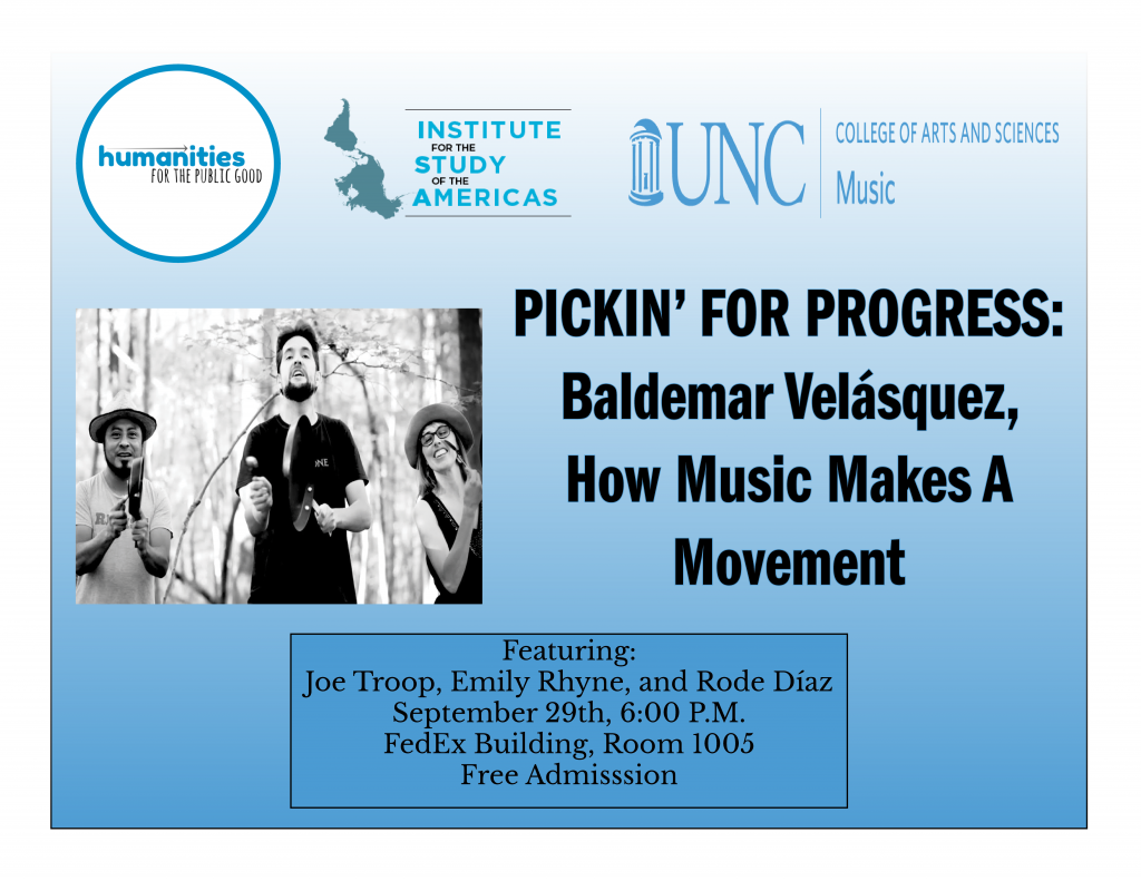 Pickin' For Progress: Baldemar Velásquez, How Music Makes a Movement