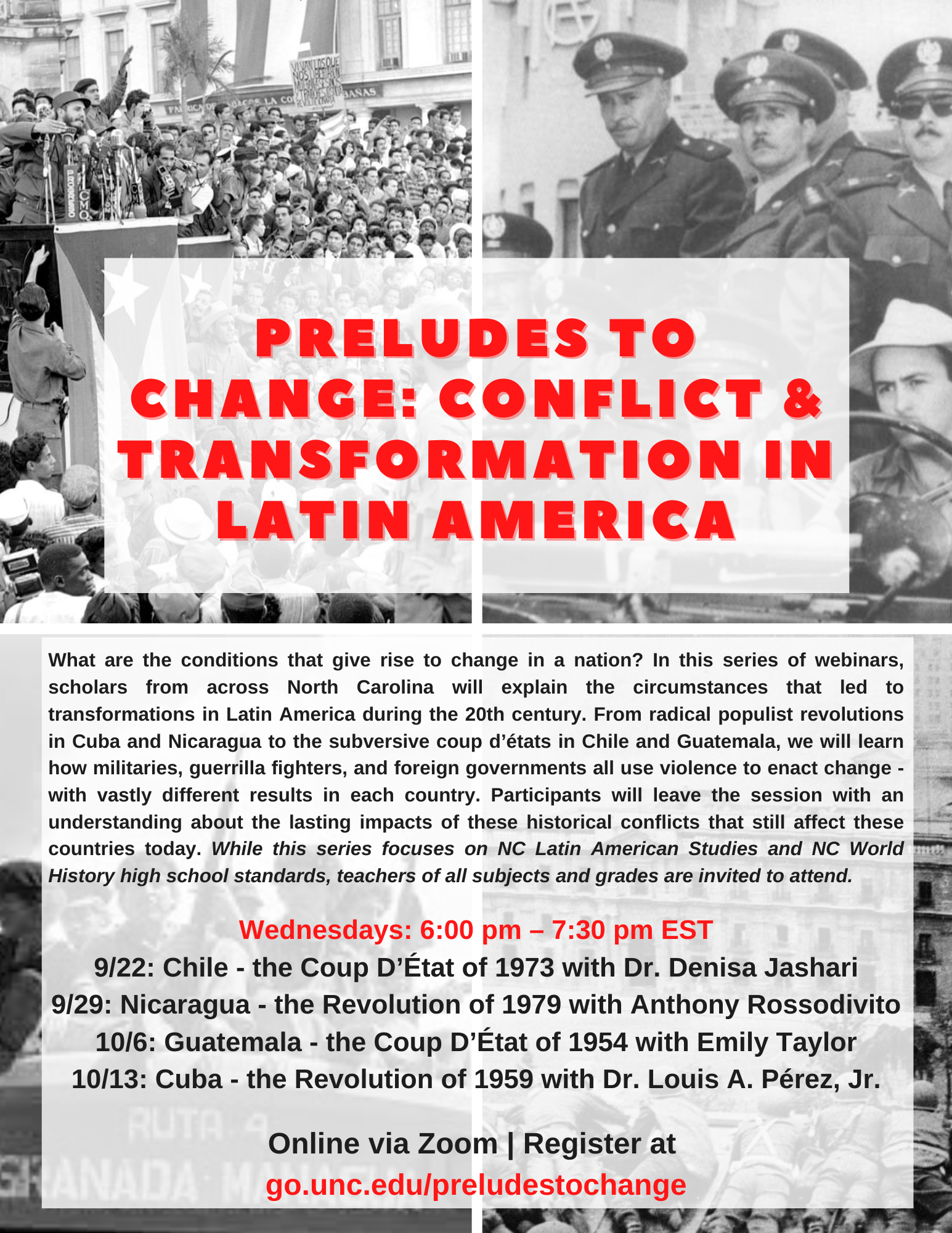 Preludes to Change: Conflict and Transformation in Latin America - Nicaragua