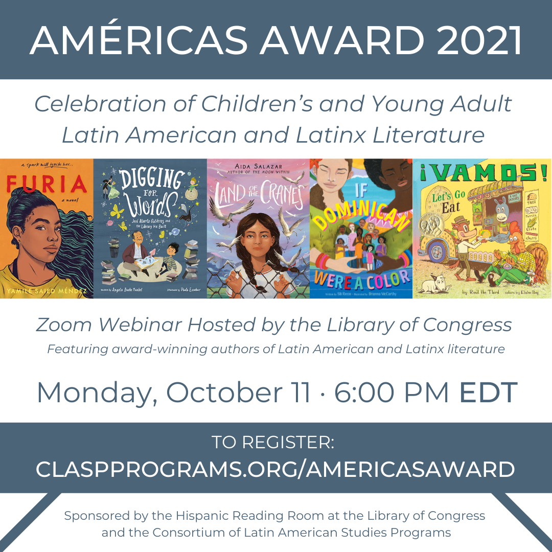 Celebration of Children's and Young Adult Latin American and Latinx Literature